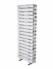 Visi-Racks with Sixteen 5� Bins by BD Vertical Roll Storage Racks for Blueprints, Documents, Drawings, & Maps