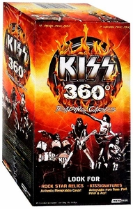 2009 Press Pass KISS Trading Cards 360 Degrees Trading Cards Value Box [12 Packs]