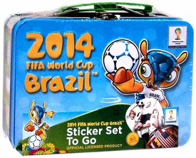 2014 FIFA World Cup Brazil Sticker Set to Go Tin