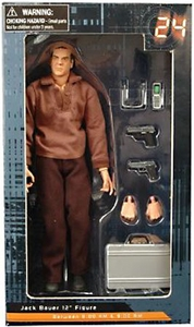 24 Diamond Select 12 Inch Deluxe Cloth Figure 8:00 AM Jack Bauer