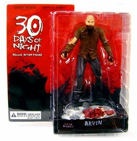 30 Days of Night Series 1 Action Figure Arvin (Bald Vampire)[Includes Build-A-Figure Lillith Piece!] (Extra Bloody Variant)