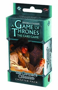 A Game Thrones: Captain's Command LCG Living Card Game Chapter Pack