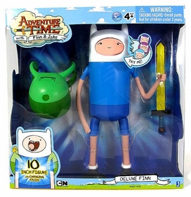 Adventure Time 10 Inch Figure Deluxe Finn [Changing Faces]