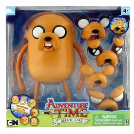 Adventure Time 10 Inch Figure Deluxe Jake [Changing Faces]