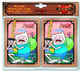 Adventure Time 80-Count Card Sleeve Pack Finn Pre-Order ships October