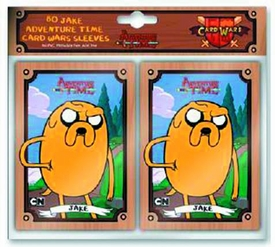 Adventure Time 80-Count Card Sleeve Pack Jake Pre-Order ships October