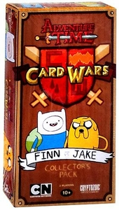 Adventure Time Card Wars Game Collector Pack Finn vs. Jake New MEGA Hot!