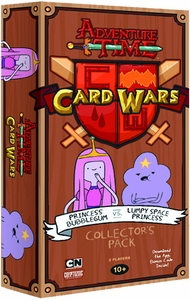 Adventure Time Card Wars Game Collector Pack Princess Bubblegum vs Lumpy Space Princess New!