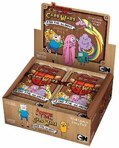 Adventure Time Card Wars Game For the Glory Booster BOX [24 Packs]