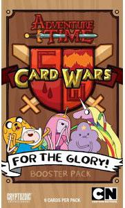 Adventure Time Card Wars Game For the Glory Booster Pack Hot!