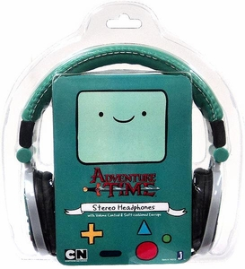 Adventure Time Fold-Up Stereo Headphones Beemo