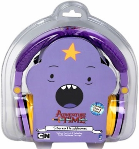 Adventure Time Fold-Up Stereo Headphones Lumpy Pre-Order ships November