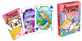 Adventure Time Playing Cards Fionna & Cake Pre-Order ships August