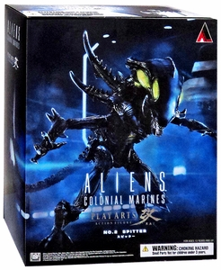 Aliens: Colonial Marines Play Arts Kai Action FIgure Alien Spitter New!