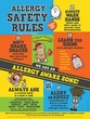 AllerMates Allergy Safety Rules Classroom Poster sz: 18x24 BLOWOUT SALE!