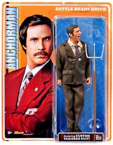 Anchorman 8 Inch Battle Ready Figure Brick Tamland