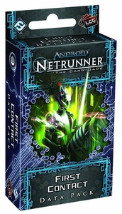 Android Netrunner Living Card Game Data Pack First Contact  Pre-Order ships August