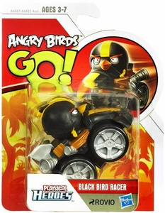 Angry Birds GO! Playskool Heroes Black Bird Racer