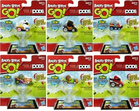 Angry Birds GO! Telepods Kart Series 1 Set of 6