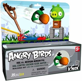 Angry Birds K'NEX Set #72478 Hal Vs. Medium Minion Pig