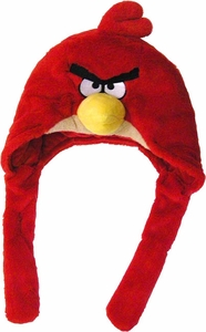 Angry Birds Plush Red Bird Laplander Hat