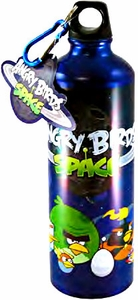 Angry Birds SPACE Aluminum Water Bottle with Caribiner