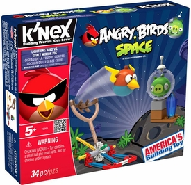 Angry Birds Space K'NEX Set #72005 Lightning Bird Vs Space Minion Pig
