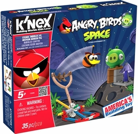 Angry Birds Space K'NEX Set #72006 Cosmic Bubbles Vs Medium Minion Pig
