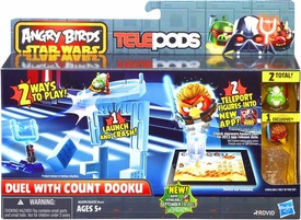 Angry Birds STAR WARS Telepods Duel with Count Dooku