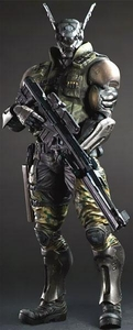 Appleseed Alpha Play Arts Kai Action Figure Briareos Hecatonchires Pre-Order ships October