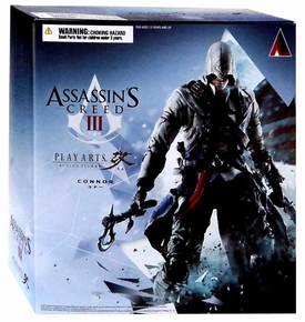 Assassin's Creed III Play Arts Kai Exclusive Action Figure Connor New!