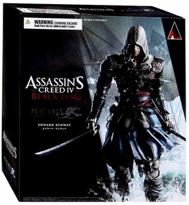 Assassin's Creed IV Play Arts Kai Exclusive Action Figure Edward Kenway New!
