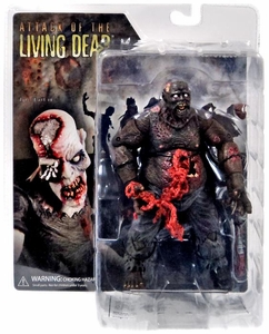 Attack of the Living Dead (Afterlife) Mezco Toyz Zombie Action Figure Earl [Dark Skin] Damaged Package, Mint Contents!