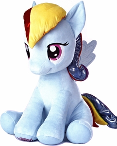 Aurora My Little Pony Friendship is Magic Jumbo 26 Inch Rainbow Dash Pre-Order ships July