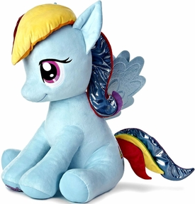 Aurora My Little Pony Friendship is Magic Jumbo 26 Inch Rainbow Dash New!