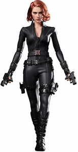 Avengers Hot Toys Movie 1/6 Scale Collectible Figure Black Widow