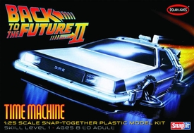 Back to the Future 1/25 Scale Model Kit Time Machine Pre-Order ships September