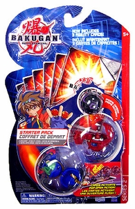 Bakugan Battle Brawlers Classic Series Starter Pack [3 Random Color Figures]