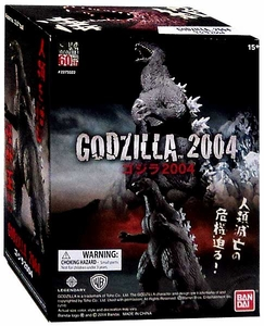 Bandai Shokugan Godzilla Collection Mini Figure Godzilla [2004] New!
