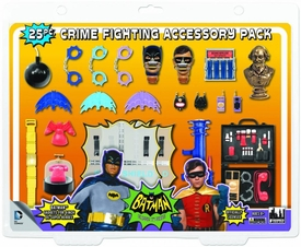 Batman 1966 TV Retro Action Figure Crime Fighting Accessory Pack Pre-Order ships September