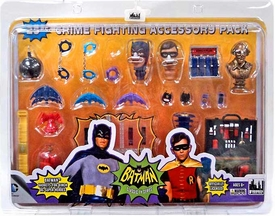 Batman 1966 TV Retro Action Figure Crime Fighting Accessory Pack New!