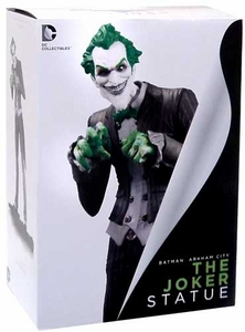 Batman Arkham City 10 Inch Joker Statue