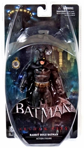 Batman Arkham City Action Figure Rabbit Hole Batman New!