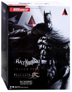 Batman Arkham City Square Enix Play Arts Kai Series 4 Action Figure 1970's Batsuit Skin Batman New!