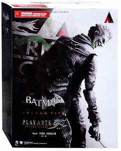 Batman Arkham City Square Enix Play Arts Kai Series 4 Action Figure The Joker New!