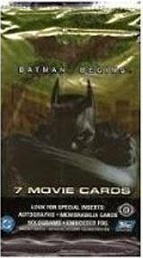 Batman Begins Movie Card Booster Pack