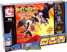 Batman C3 Mini Figure Playset BatGlider Set with Exclusive Batman and Catwoman MiniMates