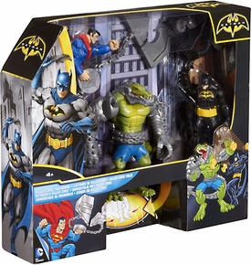 Batman Playset Killer Croc Takedown