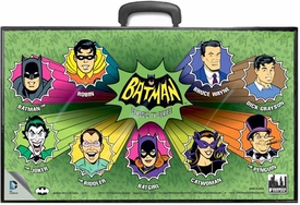 Batman Retro 8 Inch Action Figure Carrying Case TV Series Cartoon Heads New!