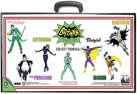 Batman Retro 8 Inch Action Figure Carrying Case Full Body Comic Art